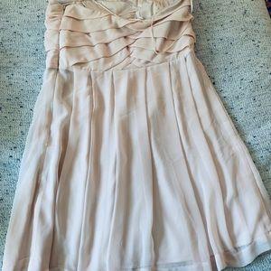 Express Dresses - Blush strapless dress